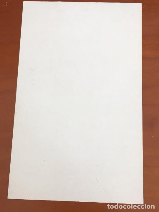 Coleccionismo deportivo: antonio diaz miguel postal original con autografo seleccion española baloncesto adidas - Foto 2 - 274228918