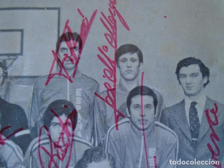 Coleccionismo deportivo: (F-210725)SELECCION ESPAÑOLA DE BALONCESTO AÑOS 70 - AUTOGRAFOS - Foto 5 - 276791718