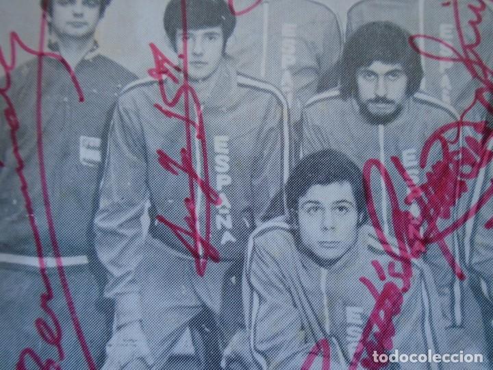 Coleccionismo deportivo: (F-210725)SELECCION ESPAÑOLA DE BALONCESTO AÑOS 70 - AUTOGRAFOS - Foto 6 - 276791718