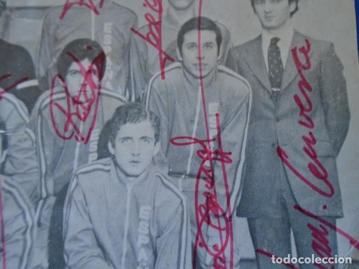 Coleccionismo deportivo: (F-210725)SELECCION ESPAÑOLA DE BALONCESTO AÑOS 70 - AUTOGRAFOS - Foto 8 - 276791718