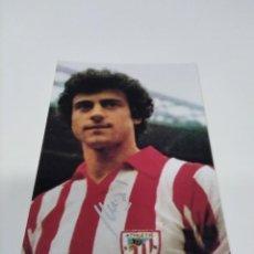 Coleccionismo deportivo: FOTOGRAFÍA AUTOGRAFIADA AMORRORTU - ATHLETIC CLUB.. Lote 277575558