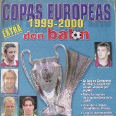 Coleccionismo deportivo: DON BALÓN. EXTRA COPAS EUROPEAS 1999-2000. 54 AUTÓGRAFOS, FIRMAS, AUTOGRAPHS JUGADORES DE FÚTBOL.. Lote 286238538