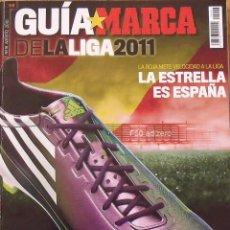 Coleccionismo deportivo: GUÍA MARCA DE LA LIGA 2011. 347 AUTÓGRAFOS, AUTOGRAPHS, FIRMAS ORIGINALES EQUIPOS 1ª DIVISIÓN FÚTBOL. Lote 286406243