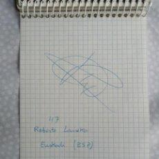 Coleccionismo deportivo: AUTOGRAFO CICLISTA ROBERTO LAISEKA, EUSKADI. VUELTA ESPAÑA 96.. Lote 287646128