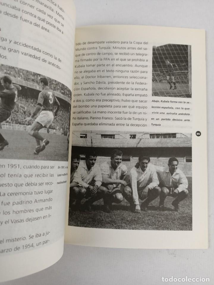 Coleccionismo deportivo: KUBALA - EL FUTBOL ES MI VIDA - DEDICATORIA y FIRMA de KUBALA a FELIX MILLET - Foto 3 - 287702523