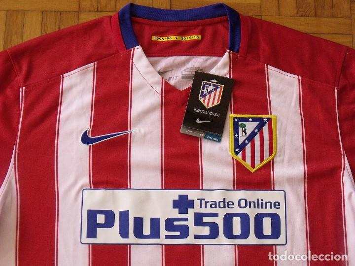 Coleccionismo deportivo: Koke. Atlético de Madrid. Autógrafo, autograph, firma original. Camiseta nueva original Nike L. 2015 - Foto 2 - 287895728