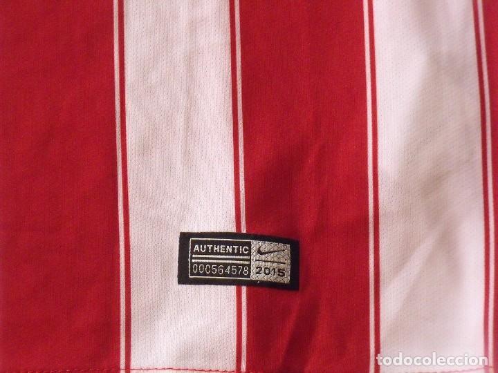 Coleccionismo deportivo: Koke. Atlético de Madrid. Autógrafo, autograph, firma original. Camiseta nueva original Nike L. 2015 - Foto 4 - 287895728