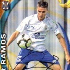 Coleccionismo deportivo: CROMO FIRMADO - AUTOGRAFO FUTBOL - OMAR RAMOS - TENERIFE. Lote 287972208
