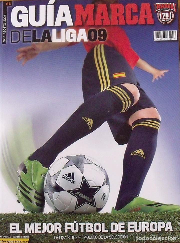 GUÍA MARCA LIGA 2008-2009. 355 AUTÓGRAFOS, AUTOGRAPHS, FIRMAS ORIGINALES EQUIPOS 1ª DIVISIÓN FÚTBOL (Coleccionismo Deportivo - Documentos de Deportes - Autógrafos)