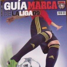 Coleccionismo deportivo: GUÍA MARCA LIGA 2008-2009. 355 AUTÓGRAFOS, AUTOGRAPHS, FIRMAS ORIGINALES EQUIPOS 1ª DIVISIÓN FÚTBOL. Lote 288057778