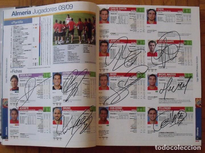 Coleccionismo deportivo: Guía Marca Liga 2008-2009. 355 autógrafos, autographs, firmas originales equipos 1ª división fútbol - Foto 3 - 288057778