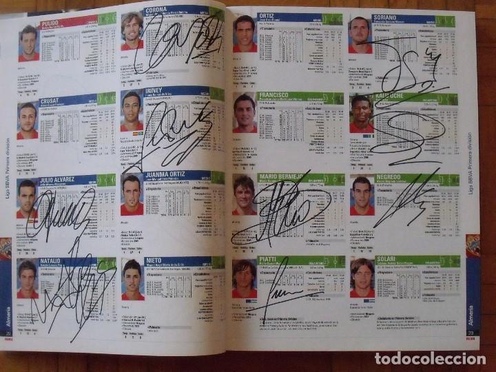 Coleccionismo deportivo: Guía Marca Liga 2008-2009. 355 autógrafos, autographs, firmas originales equipos 1ª división fútbol - Foto 4 - 288057778