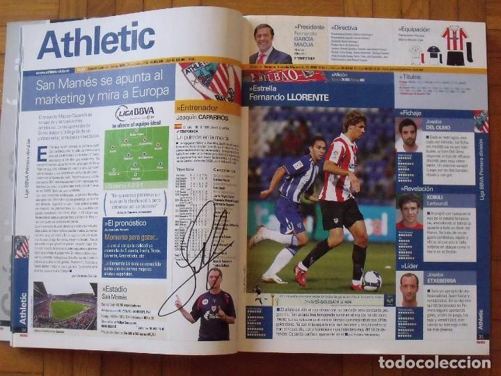 Coleccionismo deportivo: Guía Marca Liga 2008-2009. 355 autógrafos, autographs, firmas originales equipos 1ª división fútbol - Foto 5 - 288057778