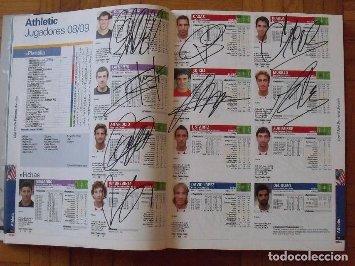 Coleccionismo deportivo: Guía Marca Liga 2008-2009. 355 autógrafos, autographs, firmas originales equipos 1ª división fútbol - Foto 6 - 288057778