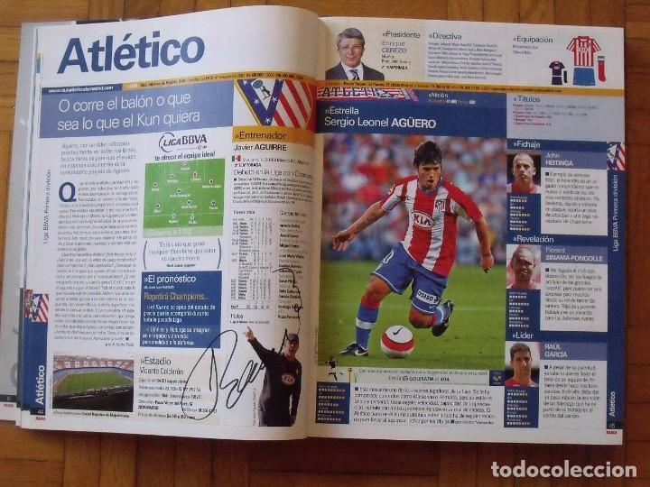 Coleccionismo deportivo: Guía Marca Liga 2008-2009. 355 autógrafos, autographs, firmas originales equipos 1ª división fútbol - Foto 8 - 288057778