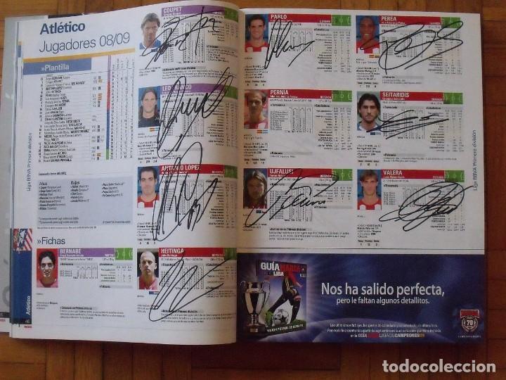 Coleccionismo deportivo: Guía Marca Liga 2008-2009. 355 autógrafos, autographs, firmas originales equipos 1ª división fútbol - Foto 9 - 288057778