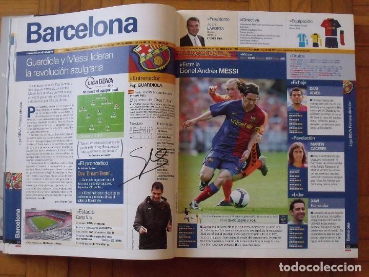 Coleccionismo deportivo: Guía Marca Liga 2008-2009. 355 autógrafos, autographs, firmas originales equipos 1ª división fútbol - Foto 11 - 288057778