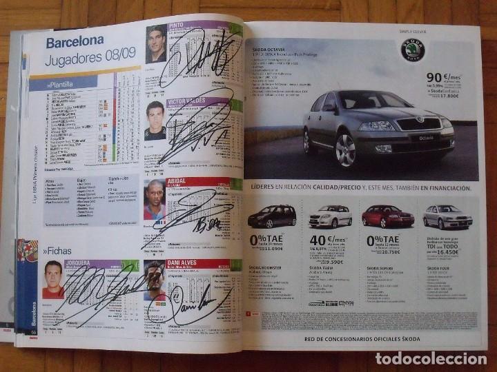 Coleccionismo deportivo: Guía Marca Liga 2008-2009. 355 autógrafos, autographs, firmas originales equipos 1ª división fútbol - Foto 12 - 288057778