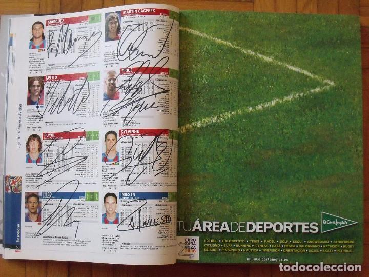 Coleccionismo deportivo: Guía Marca Liga 2008-2009. 355 autógrafos, autographs, firmas originales equipos 1ª división fútbol - Foto 13 - 288057778