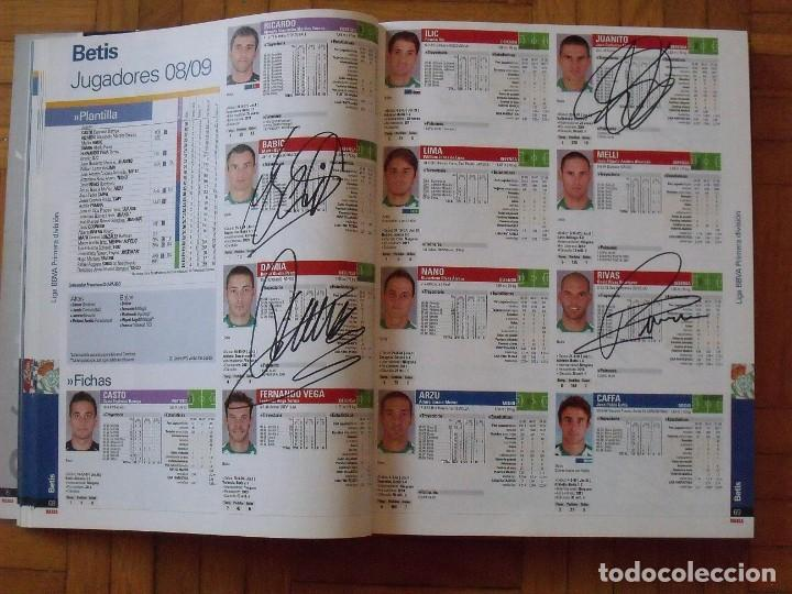 Coleccionismo deportivo: Guía Marca Liga 2008-2009. 355 autógrafos, autographs, firmas originales equipos 1ª división fútbol - Foto 15 - 288057778