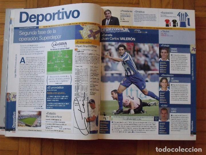 Coleccionismo deportivo: Guía Marca Liga 2008-2009. 355 autógrafos, autographs, firmas originales equipos 1ª división fútbol - Foto 17 - 288057778