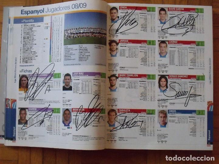 Coleccionismo deportivo: Guía Marca Liga 2008-2009. 355 autógrafos, autographs, firmas originales equipos 1ª división fútbol - Foto 20 - 288057778