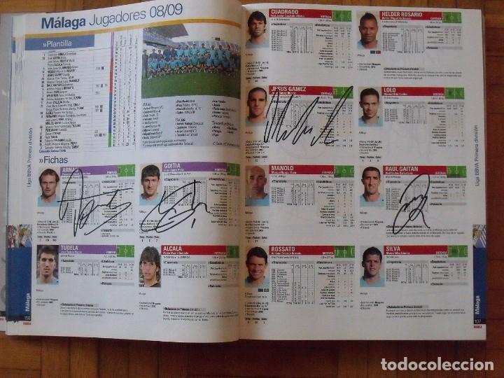 Coleccionismo deportivo: Guía Marca Liga 2008-2009. 355 autógrafos, autographs, firmas originales equipos 1ª división fútbol - Foto 25 - 288057778