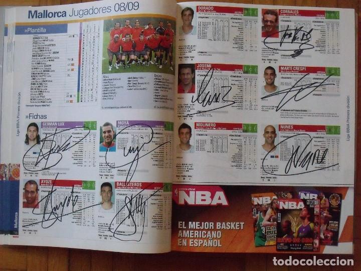 Coleccionismo deportivo: Guía Marca Liga 2008-2009. 355 autógrafos, autographs, firmas originales equipos 1ª división fútbol - Foto 27 - 288057778