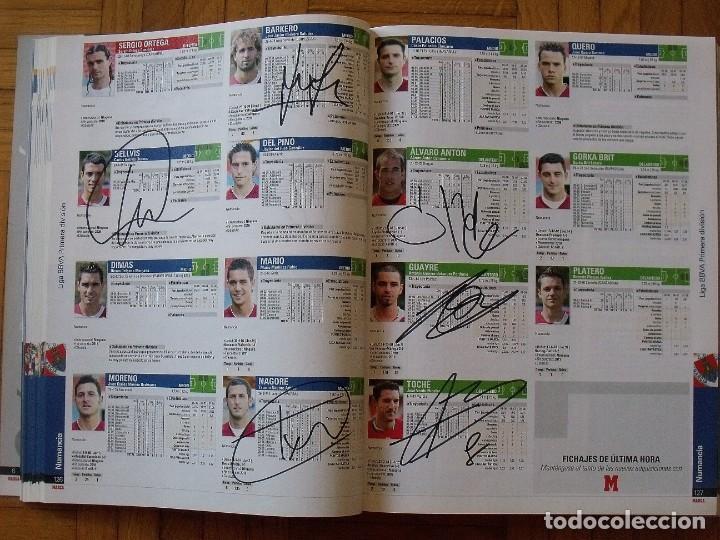 Coleccionismo deportivo: Guía Marca Liga 2008-2009. 355 autógrafos, autographs, firmas originales equipos 1ª división fútbol - Foto 30 - 288057778