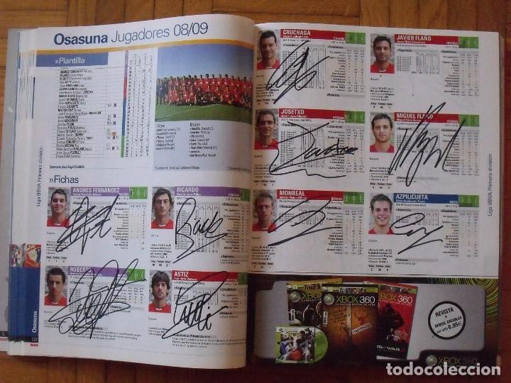 Coleccionismo deportivo: Guía Marca Liga 2008-2009. 355 autógrafos, autographs, firmas originales equipos 1ª división fútbol - Foto 32 - 288057778