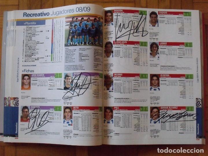 Coleccionismo deportivo: Guía Marca Liga 2008-2009. 355 autógrafos, autographs, firmas originales equipos 1ª división fútbol - Foto 40 - 288057778