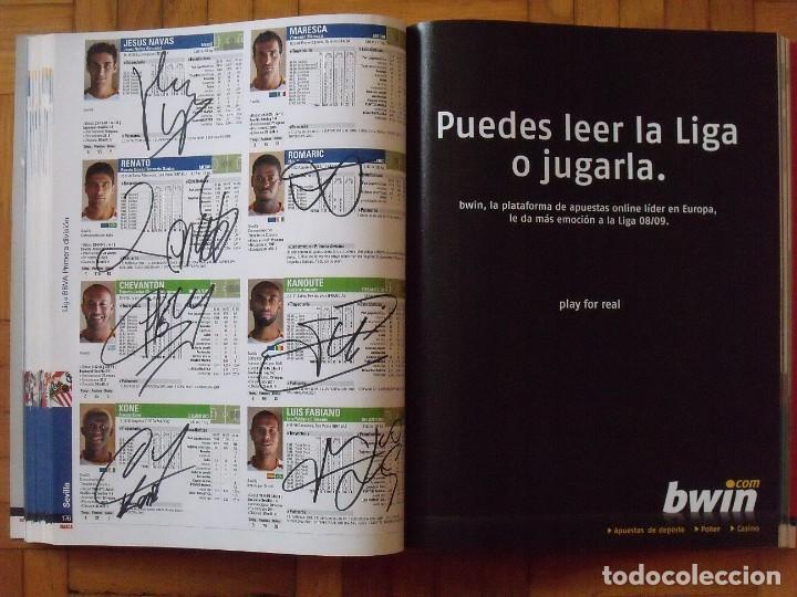 Coleccionismo deportivo: Guía Marca Liga 2008-2009. 355 autógrafos, autographs, firmas originales equipos 1ª división fútbol - Foto 44 - 288057778