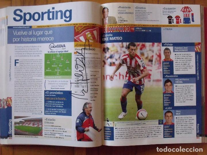 Coleccionismo deportivo: Guía Marca Liga 2008-2009. 355 autógrafos, autographs, firmas originales equipos 1ª división fútbol - Foto 45 - 288057778