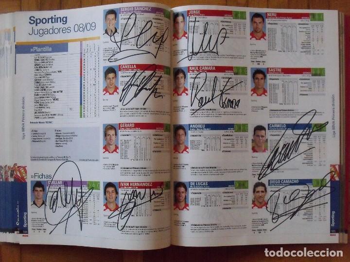 Coleccionismo deportivo: Guía Marca Liga 2008-2009. 355 autógrafos, autographs, firmas originales equipos 1ª división fútbol - Foto 46 - 288057778