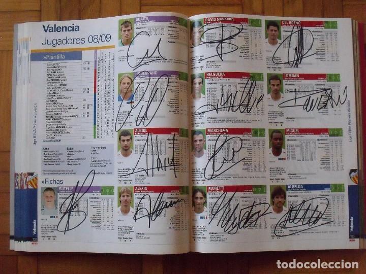 Coleccionismo deportivo: Guía Marca Liga 2008-2009. 355 autógrafos, autographs, firmas originales equipos 1ª división fútbol - Foto 49 - 288057778