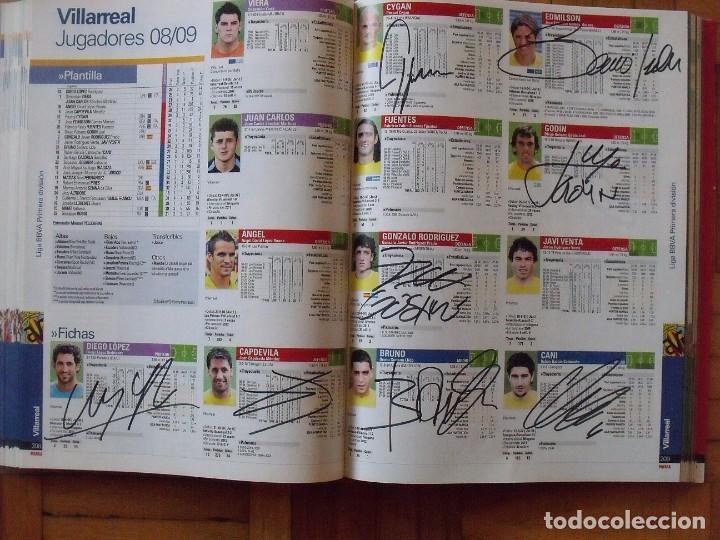 Coleccionismo deportivo: Guía Marca Liga 2008-2009. 355 autógrafos, autographs, firmas originales equipos 1ª división fútbol - Foto 53 - 288057778