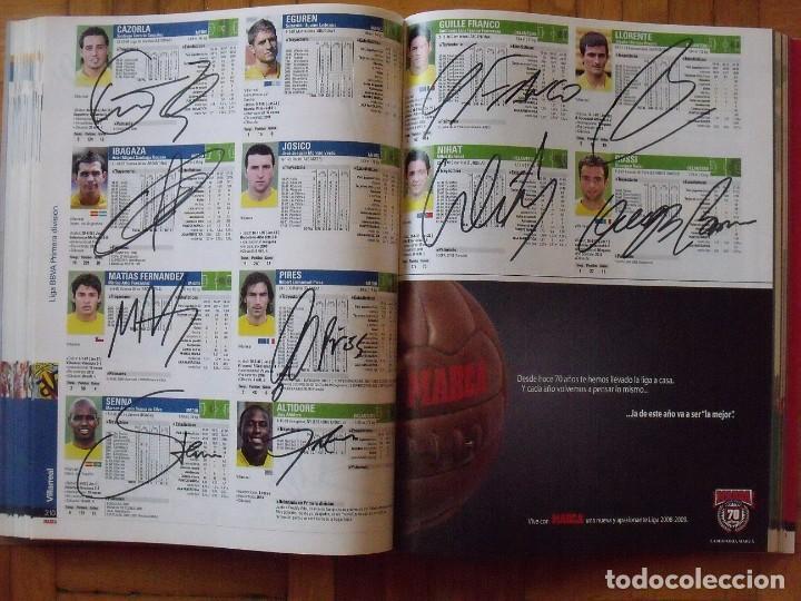 Coleccionismo deportivo: Guía Marca Liga 2008-2009. 355 autógrafos, autographs, firmas originales equipos 1ª división fútbol - Foto 54 - 288057778