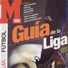 Coleccionismo deportivo: GUÍA MARCA LIGA 2004-2005. 186 AUTÓGRAFOS, AUTOGRAPHS, FIRMAS ORIGINALES EQUIPOS 1ª DIVISIÓN FÚTBOL. Lote 288166973