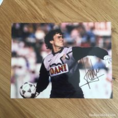 Coleccionismo deportivo: RCDE TONI JIMENEZ AUTOGRAFO ORIGINAL EN FOTO (MIO). Lote 288306353