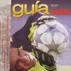 Coleccionismo deportivo: GUÍA MARCA LIGA 2001-2002. 258 AUTÓGRAFOS, AUTOGRAPHS, FIRMAS ORIGINALES EQUIPOS 1ª DIVISIÓN FÚTBOL. Lote 288316173