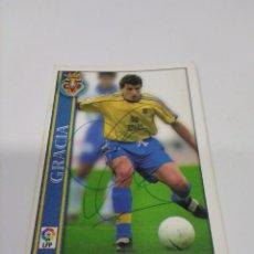 Coleccionismo deportivo: CROMO AUTOGRAFIADO GRACIA - VILLARREAL.. Lote 288317628