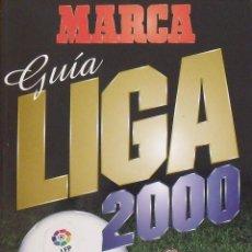 Coleccionismo deportivo: GUÍA MARCA LIGA 1999-2000. 188 AUTÓGRAFOS, AUTOGRAPHS, FIRMAS ORIGINALES EQUIPOS 1ª DIVISIÓN FÚTBOL. Lote 288320443