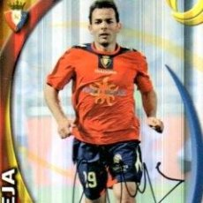 Coleccionismo deportivo: CROMO FIRMADO - AUTOGRAFO FUTBOL -CALLEJA - OSASUNA. Lote 288348053