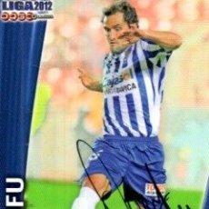 Coleccionismo deportivo: CROMO FIRMADO - AUTOGRAFO FUTBOL - DANI CIFUENTES - RECREATIVO HUELVA. Lote 293938198