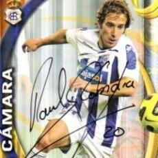 Coleccionismo deportivo: CROMO FIRMADO - AUTOGRAFO FUTBOL - RAUL CAMARA - RECREATIVO HUELVA. Lote 293939373