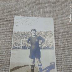 Colecionismo desportivo: FOTO ORIGINAL DEDICADA VICENTE PIERA DEL FC BARCELONA. Lote 294129343