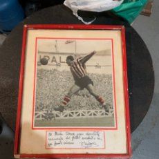 Coleccionismo deportivo: FOTO DE ZARA DEDICADA 1953. Lote 295435498