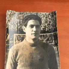 Coleccionismo deportivo: ANTONI RAMALLETS BARCELONA FOTO ORIGINAL ANTIGUA CON AUTOGRAFO ORIGINAL FOTO RAMON DIMAS. Lote 295816688