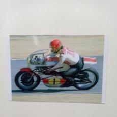 Coleccionismo deportivo: FOTO AUTOGRAFO ORIGINAL DE AGOSTINI DE 10X15 CMS COMPRADO EN NAPOLES. Lote 295989358