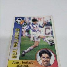 Coleccionismo deportivo: CROMO AUTOGRAFIADO IÑAKI - VALLADOLID.. Lote 297156538
